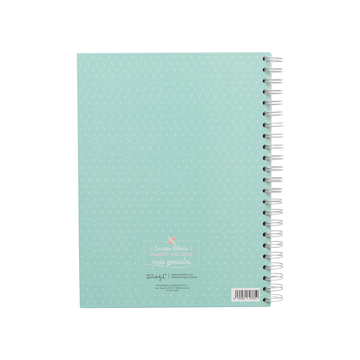 Amazon.com : Mr. Wonderful WOA03716ES Large Notebook with ...