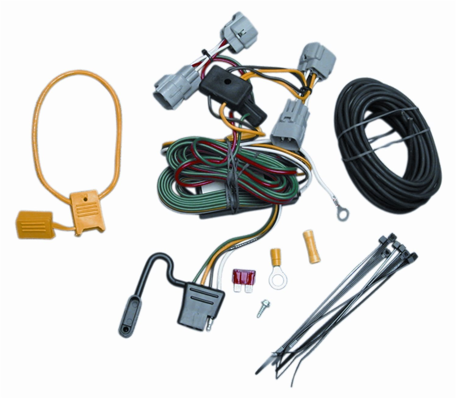 71qOEmhh59L._SL1500_ amazon com vehicle to trailer wiring connector for 94 98 jeep Jeep Trailer Wiring Harness Diagram at fashall.co