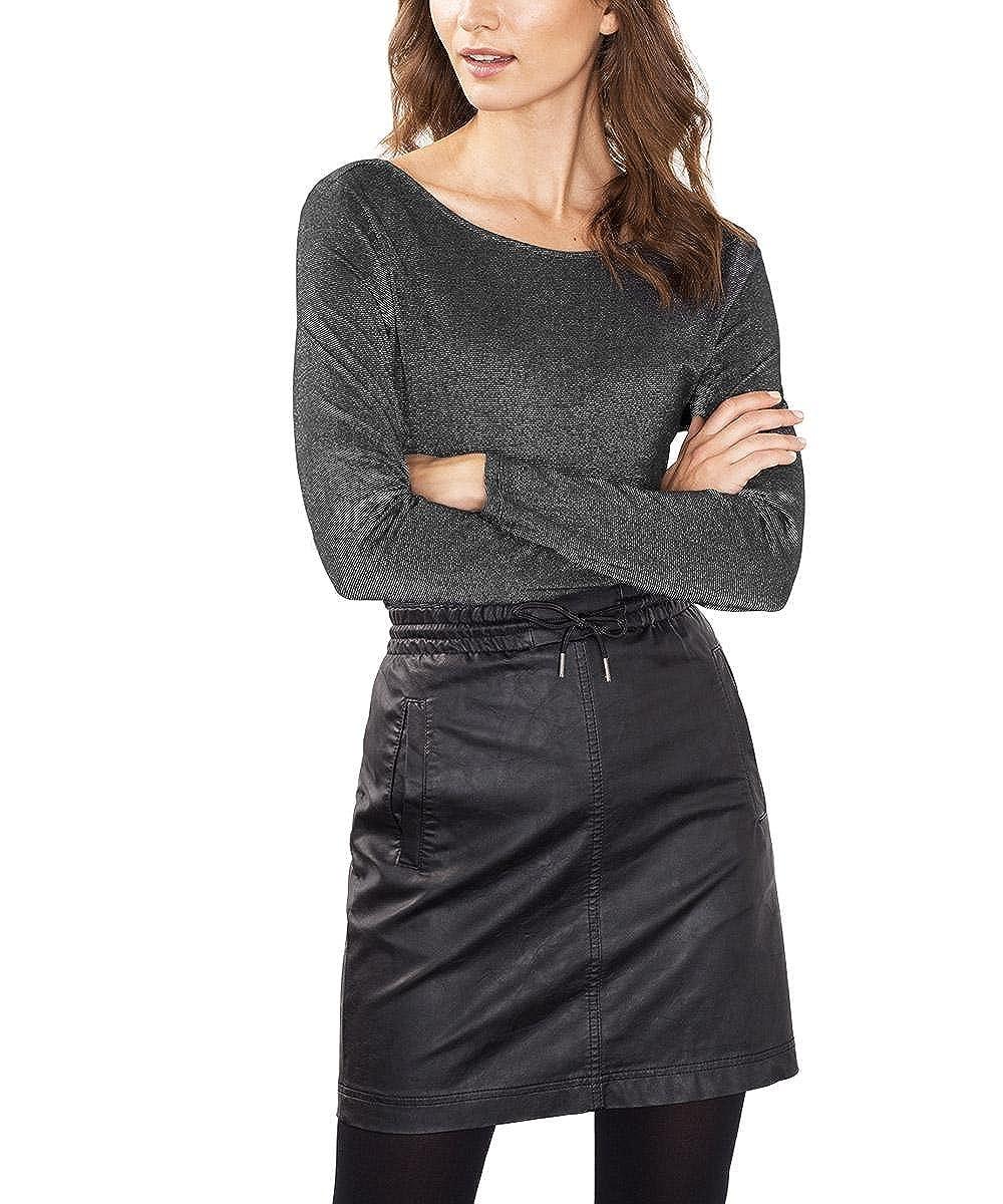 TALLA 38 (Talla del fabricante: Medium). Esprit 116ee1k013 - Camiseta sin Mangas Mujer