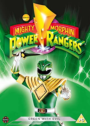 Power Rangers: Green With Evil [Reino Unido] [DVD]
