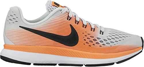 Nike Boys Shoes Flex 2017 RN GS Running Sneakers Hyper Orange Black New