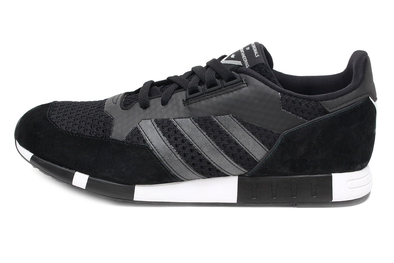 online store 870af 9cc3e Amazon.com  adidas White Mountaineering Boston Super Primeknit Mens in  Black  Fashion Sneakers