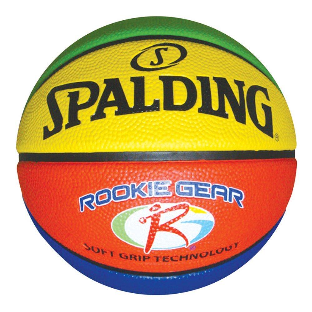 amazon com spalding rookie gear soft grip basketball sports