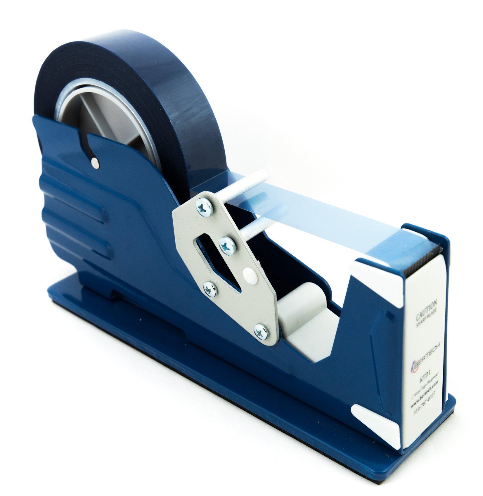 Bertech General Purpose Tape Dispenser, For 1'' Wide Tapes