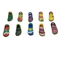 FaisTonGateau - fèves thème Chaussures à croquer - 10 fèves de collection