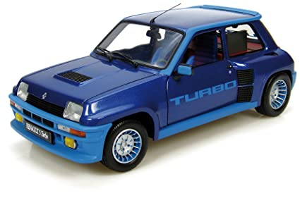 Universal Hobbies UH4521 Renault 5 Turbo - Coche de modelismo, color azul