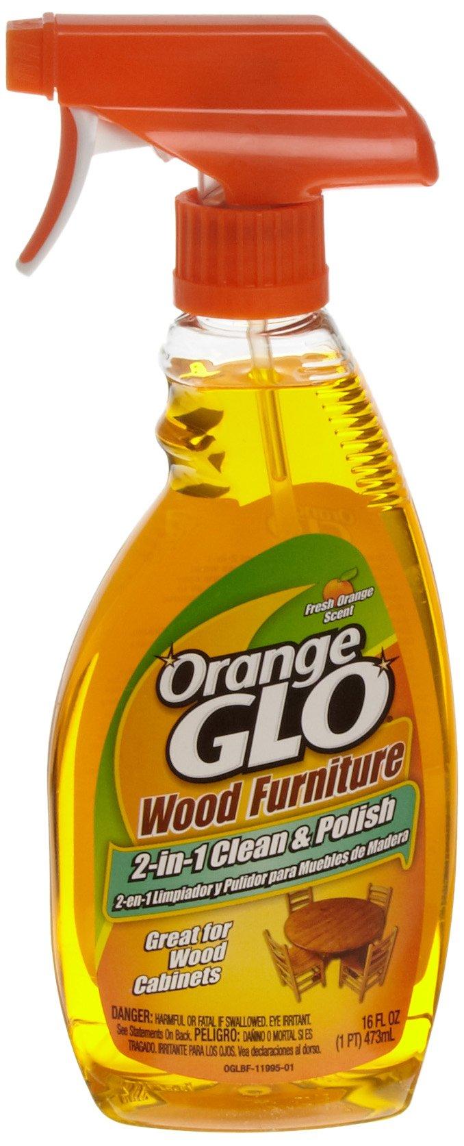 Orange Glo 57037-11897 16-Ounce Wood Furniture Polish (Case of 6) by Orange Glo