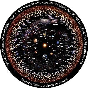 Logarithmic Universe (Annotated Version) - disc for Sega Toys Homestar Classic/Flux/Original Planetarium