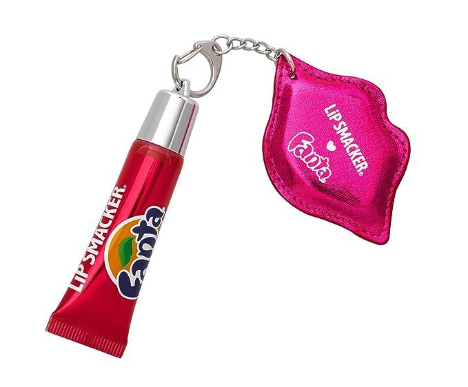 WhiteCream Lip Gloss Keychain