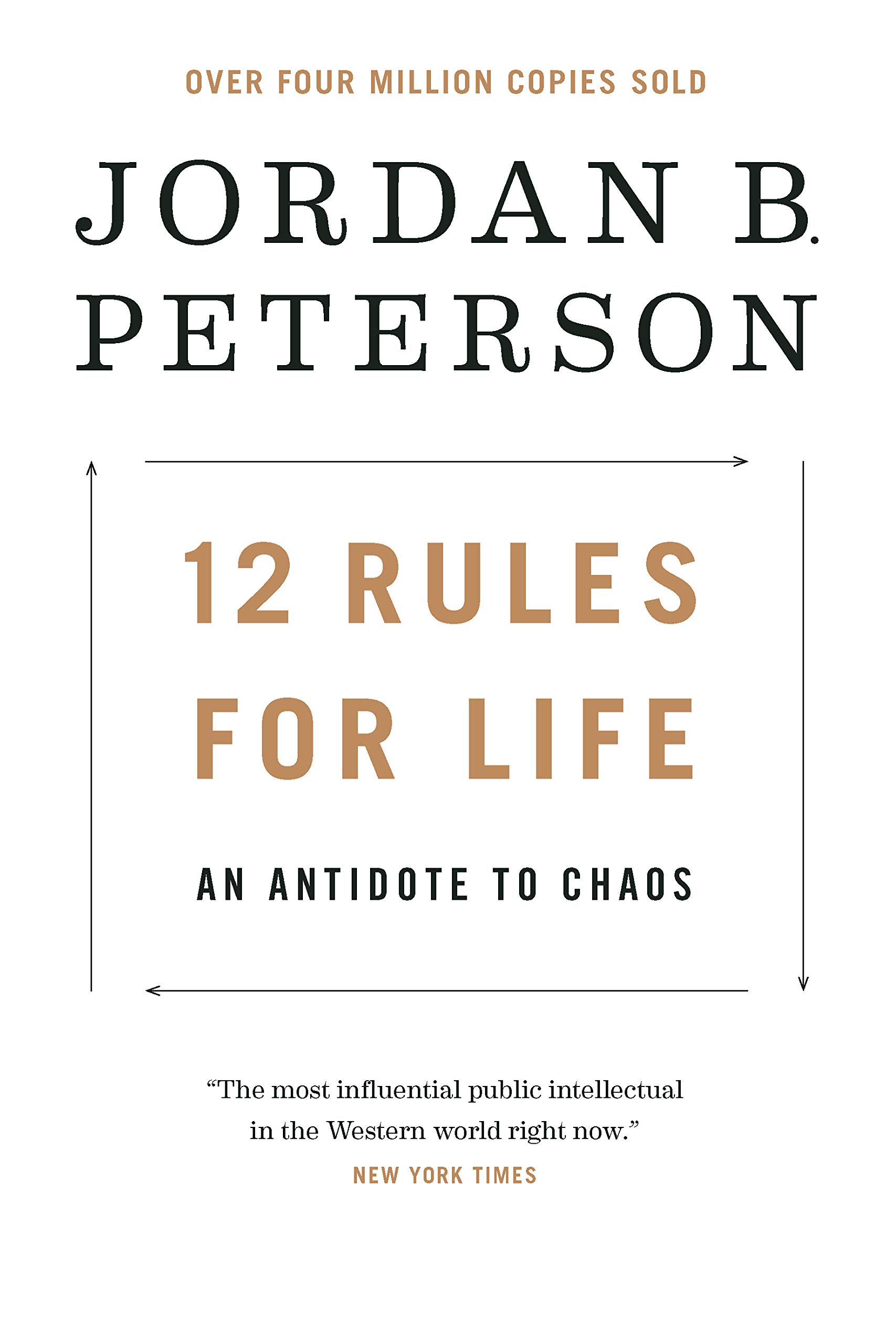 Sudamerica Donación paso  12 Rules for Life: An Antidote to Chaos: Peterson, Jordan B.:  9780345816023: Amazon.com: Books