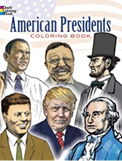 American Presidents Coloring Book Dover History