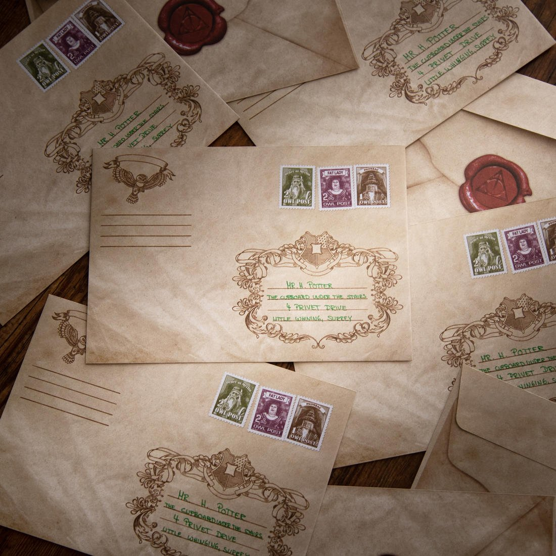 getDigital Gufo Post di lettera busta