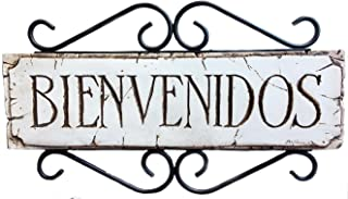 product image for Piazza Pisano Spanish Decor Welcome Sign Bienvenidos