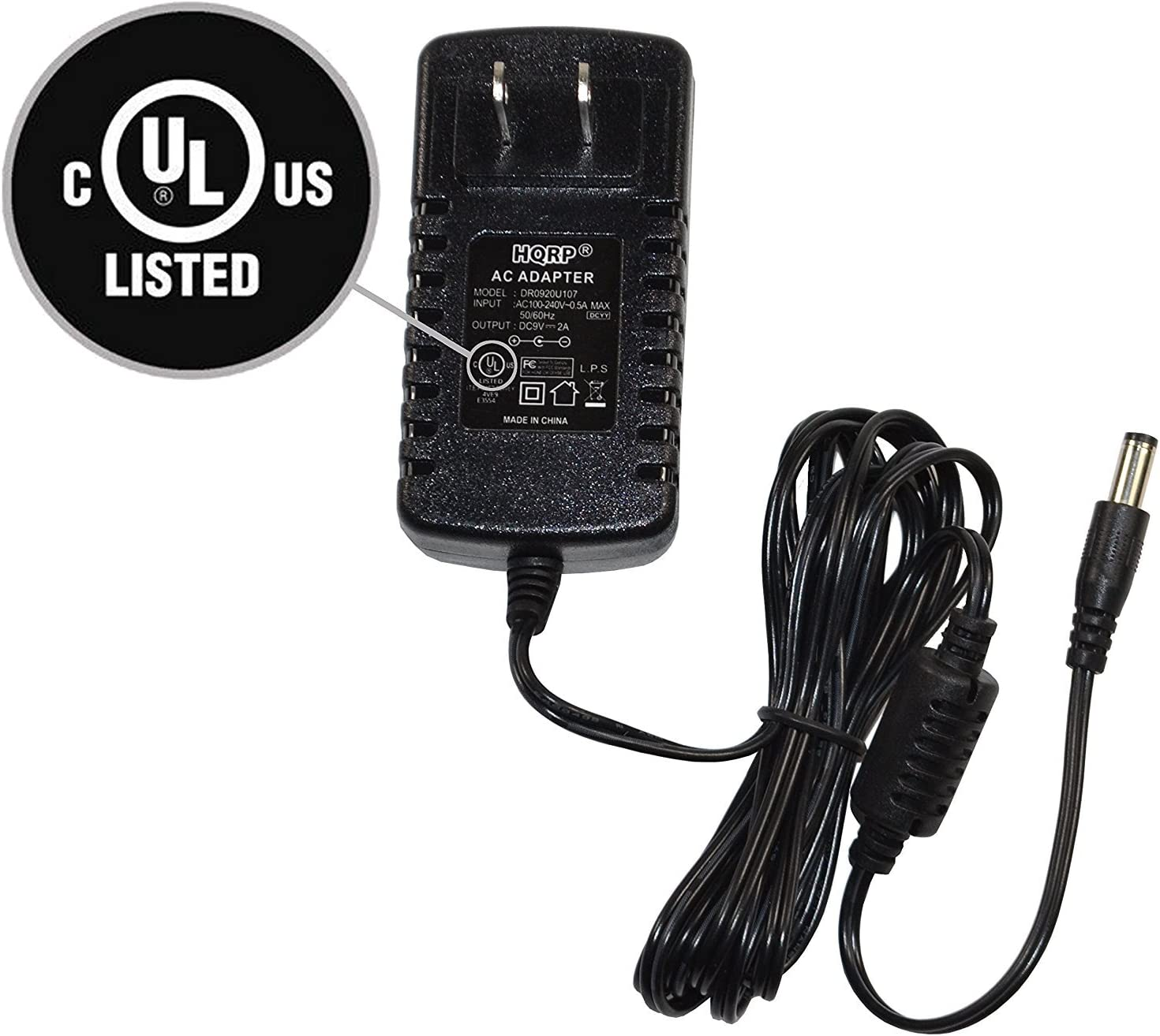 Replacement Power Supply for KORG AX1G 9V HS