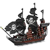 Rikuzo Caribbean Pirate Black Pearl Ship Model...