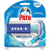 Desodorizador Sanitário Pato Gel Adesivo Aplicador + Refil Marine, 1 disco