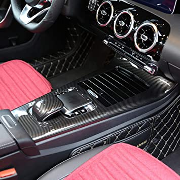 Diyucar Abs Plastic Center Console Protector Frame For Benz A Class W177 2019 Accessories Auto