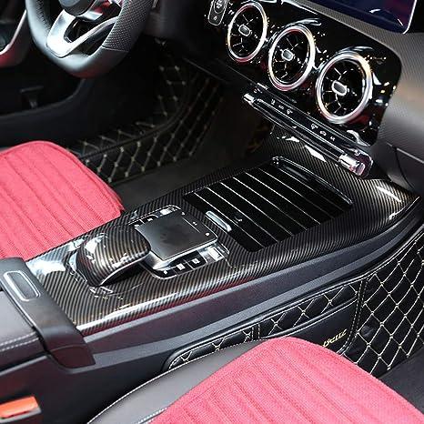 Consolle Centrale Auto.Telaio Di Protezione In Fibra Di Carbonio Abs Per Console Centrale Auto Benz Classe A W177 2019 Lhd Accessori