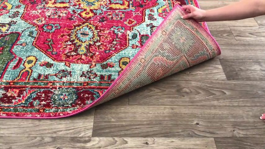 "nuLOOM Corbett Vintage Boho Runner Rug, 2' 6"" x 8', Multi - Made in Turkey PREMIUM MATERIAL: Crafted of durable synthetic fibers, it has soft texture and is easy to clean SLEEK LOOK: Doesn't obstruct doorways and brings elegance to any space - runner-rugs, entryway-furniture-decor, entryway-laundry-room - 71qOPP80biL -"