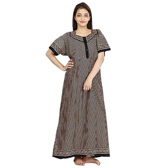 01294b333 Silver Organisation Women s Cotton Nighty Gown (SON 4198 ...