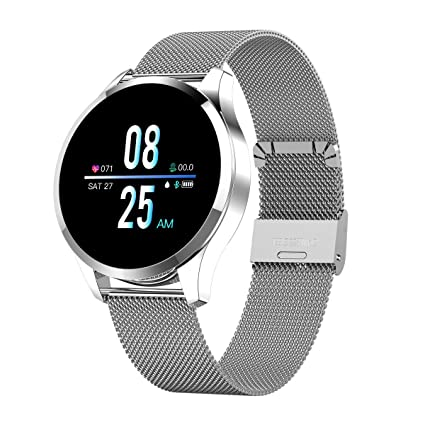 Smart Watch, Bluetooth Smartwatch for Women Men, Sports Fitness Tracker IP67 Waterproof with Heart Rate Blood Pressure Sleep Monitor Calorie Counter ...