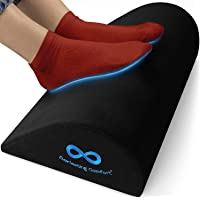 Everlasting Comfort Office Foot Rest for Under Desk - Pure Memory Foam - Ergonomic Foot Stool Pillow - Work, Home and…