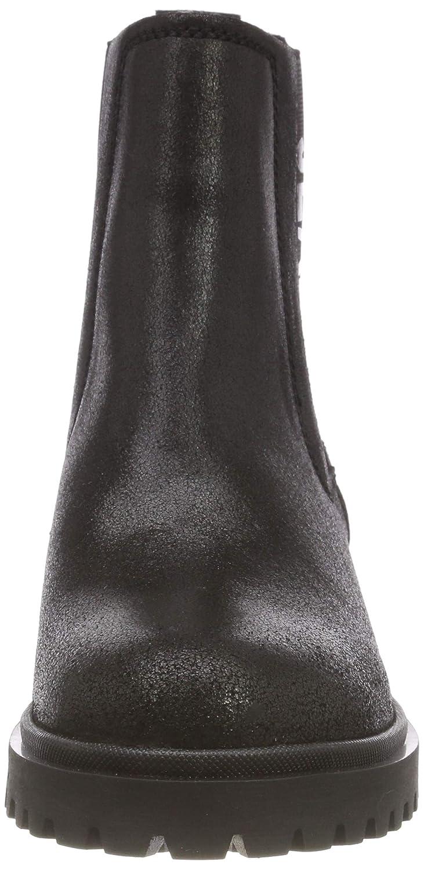Hilfiger Denim Damen Cleated Metallic Cleated Damen Chelsea Stiefel 9ac2db