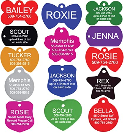 GoTags Pet ID Personalized Dog Tags