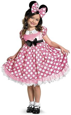 Traje de Minnie Mouse rosa fosforescente infantil Cualquier día ...