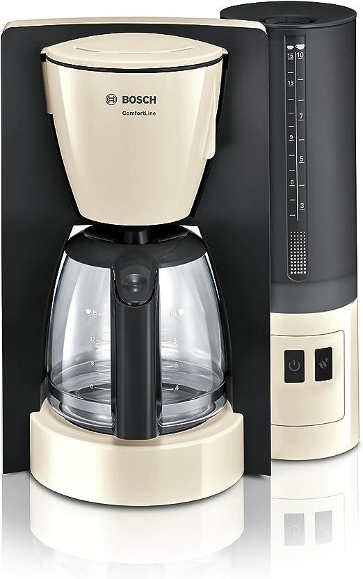 Bosch TKA6A047 - Cafetera (Independiente, Cafetera de filtro, 1,25 ...