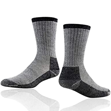 a63d023493 Outdoor Hiking Socks, RTZAT Merino Wool Athletic Running Anti-Blister  Cuhsion Full Thickness Cold