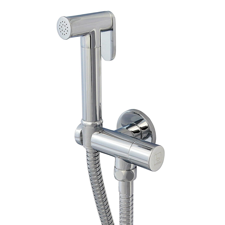 Bidetarmatur - Kaltwasser · inkl. Handbrause und Schlauch · Duscharmatur · Bad · WC | Burgtal Fia 17601