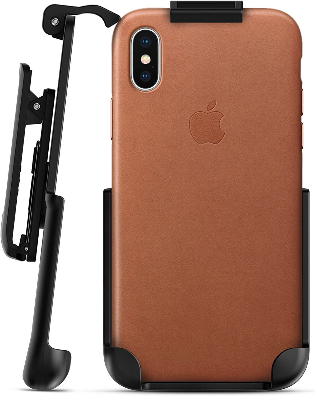 Encased Belt Clip Holster for Apple Leather Case - iPhone X (case not Included)