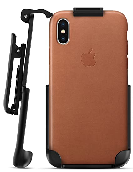 finest selection 646d5 e41a3 Encased Belt Clip Holster for Apple Leather Case - iPhone X (case not  Included)