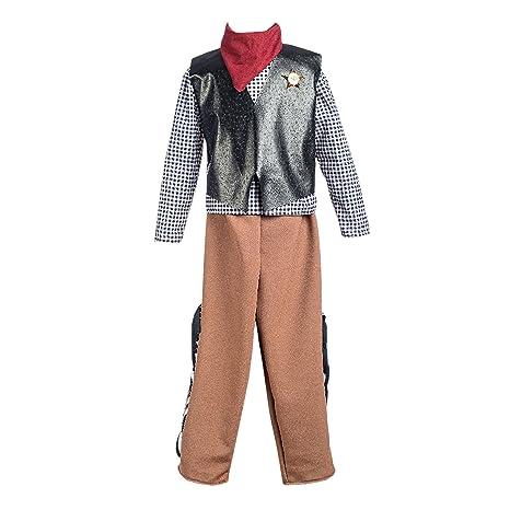 Disfraz de Vaquero del Oeste para niño  Amazon.es  Juguetes y juegos ce175f2a4a3