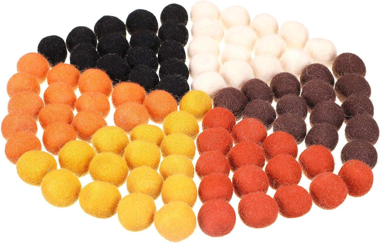 Lavender Felt Balls Wool Beads Felted Bead 100/% Wool Felt Pom Poms Balls Wool Pompoms Handmade Mother/'s day gift DIY Garland Mobile