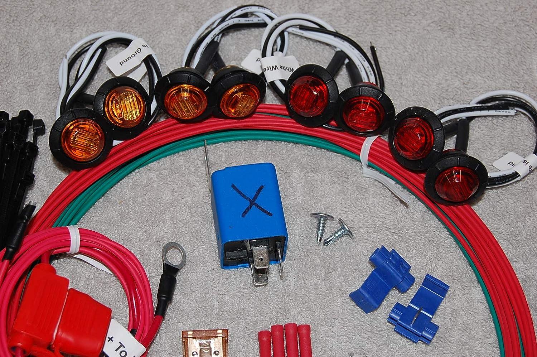Sxs Utv Polaris Ranger Crew Turn Signal Led Light 2010 Fuse Box Ts315s Automotive
