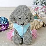 NEARTIME Puppy Clothes, Mini Dog Winter Fleece Vest Hoodie Yorkie Coat Apparel