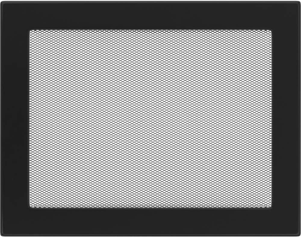 22 cm x 30 cm Kratki rejilla negro