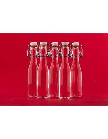 24 botellas de vidrio pequeños 40ml slkfactory (Bügel)