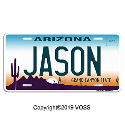 Amazon com: Voss Collectables Arizona Personalized Name