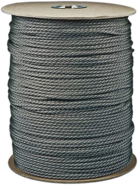 20 Feet Hanks or 250 /& 1000 Foot Spools with 3//8 Inch Black Buckles PARACORD PLANET 550 LB Type III 7 Strand 4mm Tactical Cord with Choices of 10 50 Over 300 Colors to Choose from 25 100