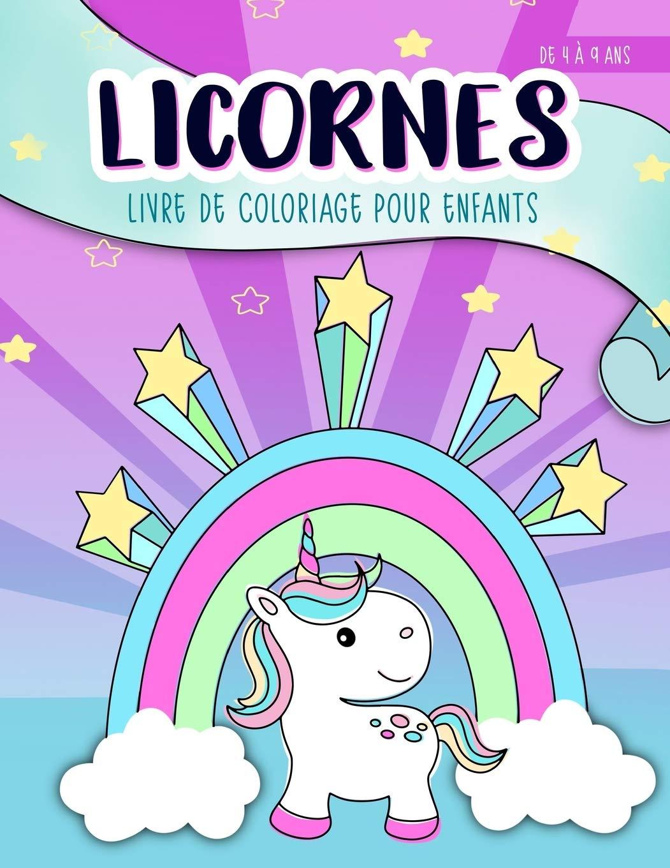 Licornes  livre de coloriage pour enfants  de 32 à 32 ans Un ...