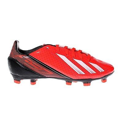 superior quality 03284 f38f2 Adidas F10 TRX Firm Ground Football per Bambini, Rosso, Rosso Amazon.it Scarpe  e borse