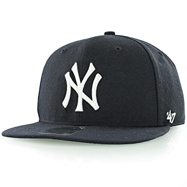 775cd2830cdb7 Image Unavailable. Image not available for. Color  47 Brand New York  Yankees Sure Shot Mens Snapback ...