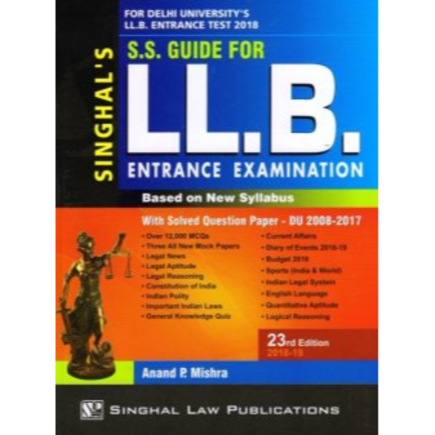 Amazon.in: Buy S.S. Guide for LLB Entrance Examination Based on New  Syllabus Book Online at Low Prices in India | S.S. Guide for LLB Entrance  Examination ...