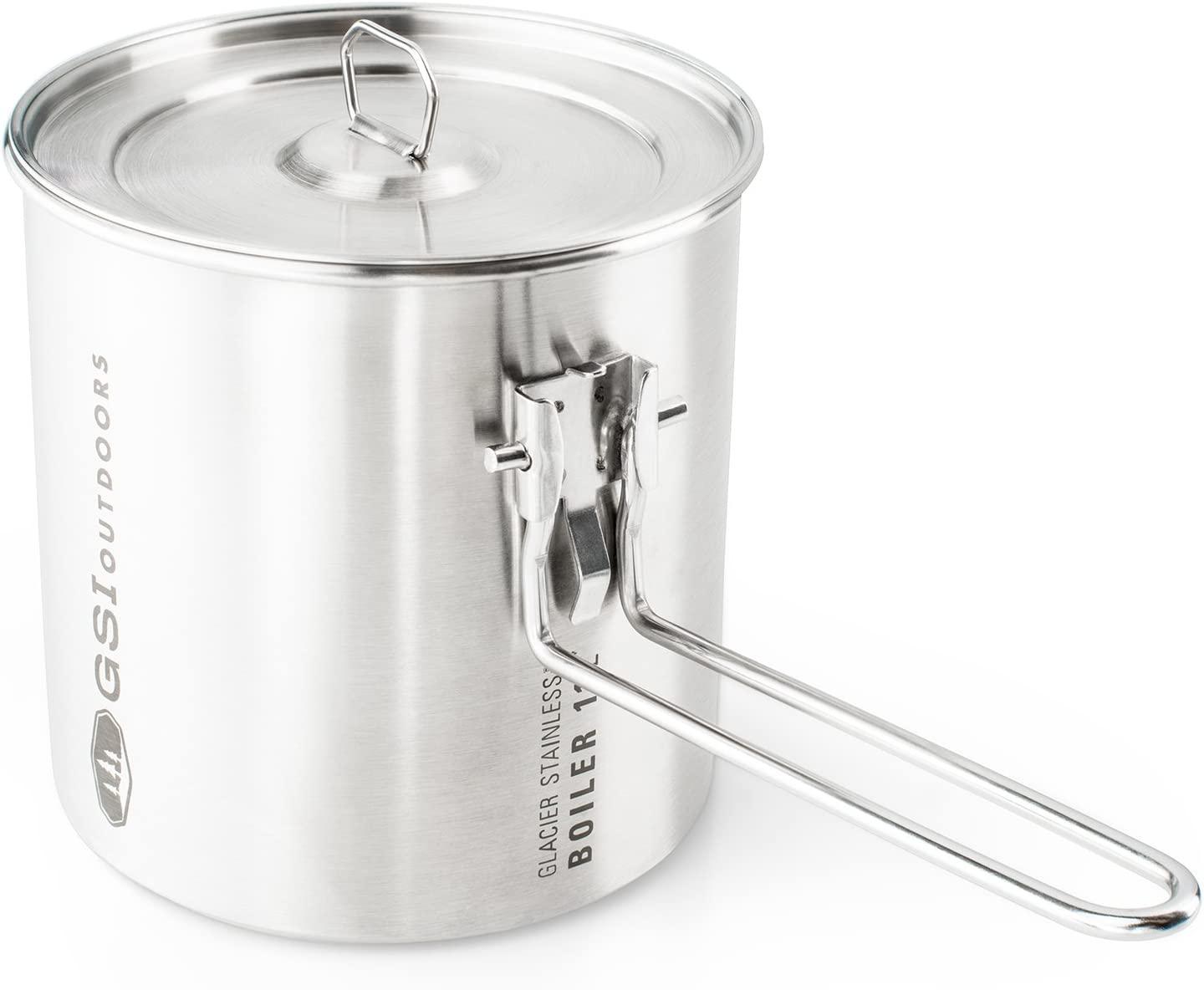 GSI Outdoors Glacier Stainless 1.1 L Boiler for Ultralight Backpacking and Camping