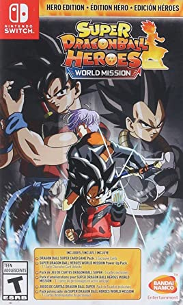 Super DRAGON BALL Heroes: World Mission for Nintendo Switch ...