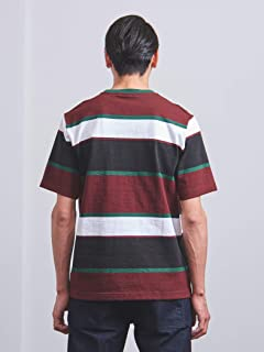 Multi Stripe Tee 1117-499-2514: Burgundy