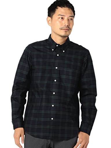 Oxford Buttondown Shirt 111-13-5499: Black Watch